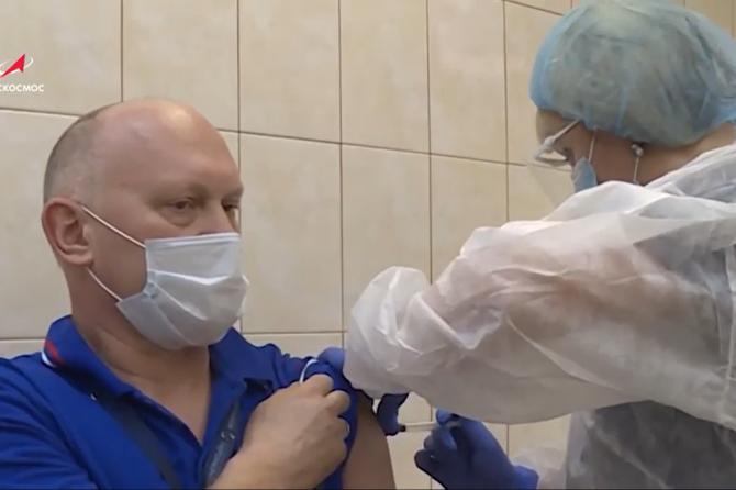 ФМБА России начало вакцинацию от COVID-19 космонавтов «Роскосмоса» и сотрудников ЦПК им. Ю.А. Гагарина