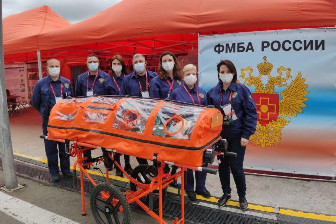 Клиническая больница № 85 ФМБА России принимает участие в международном военно-техническом форуме «Армия -2020»